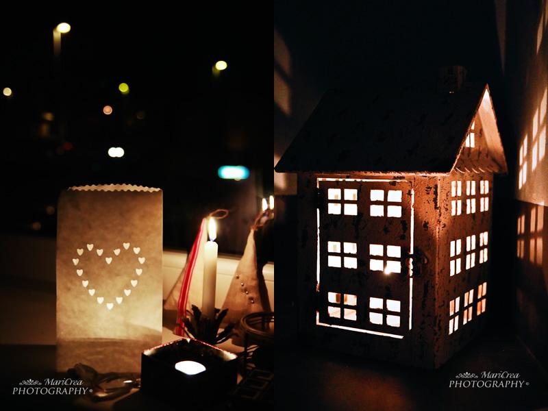candele e lanterne di Natale