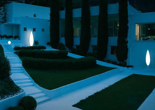 Modernas luces para iluminar patios y terrazas vibia for Luces modernas