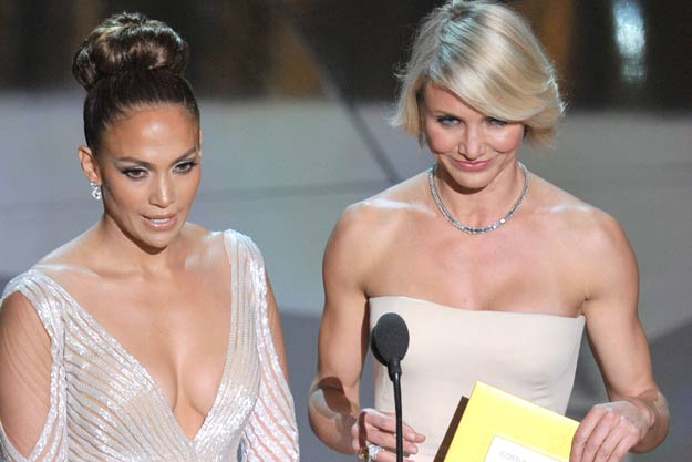 Jennifer Lopez and Cameron Diaz on announcement