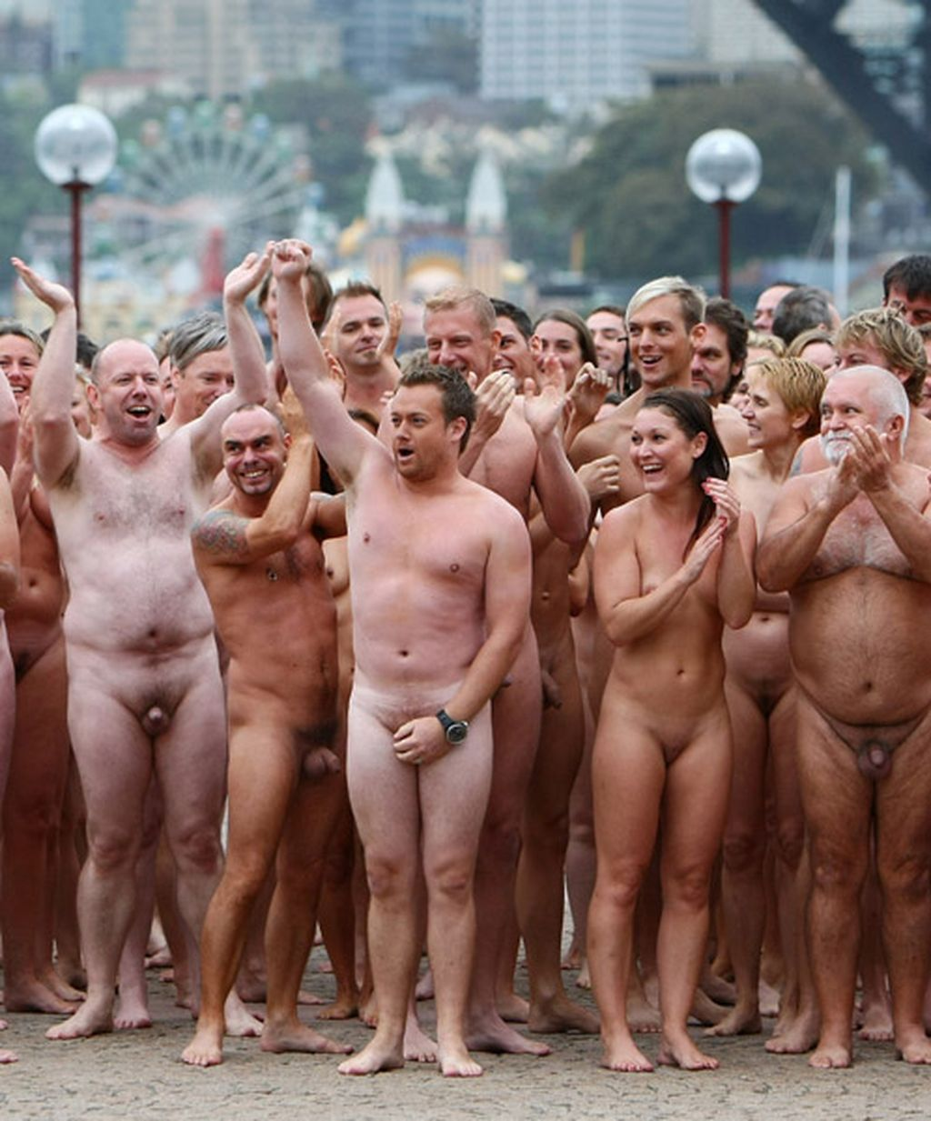 Are Spencer tunick naked people something