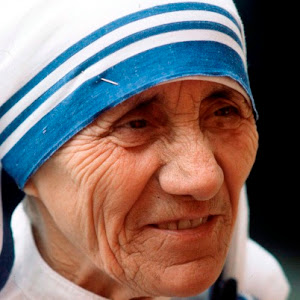 "I Follow ""Mother Teresa"""