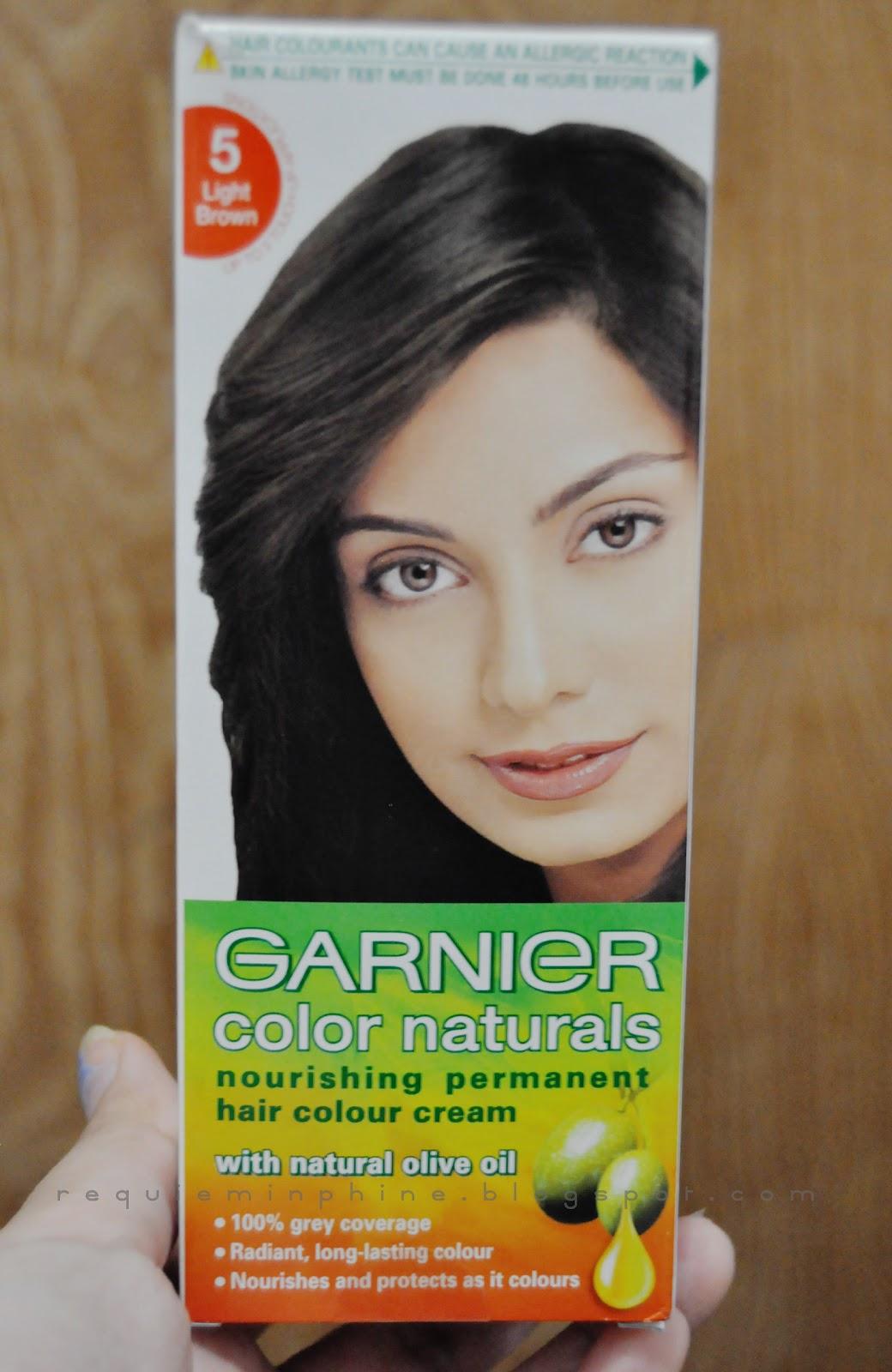 Cantarella Review Garnier Color Naturals In 5 Light Brown Lets Start