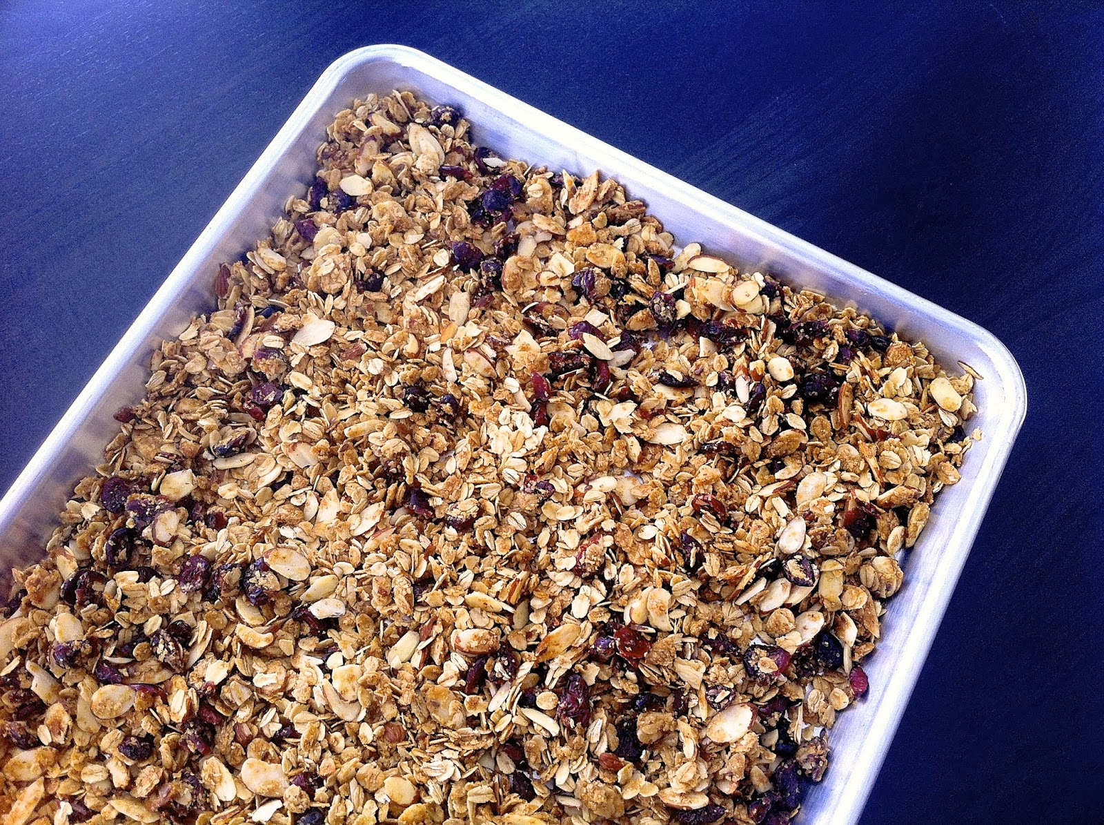 Honey and Cardamom Granola