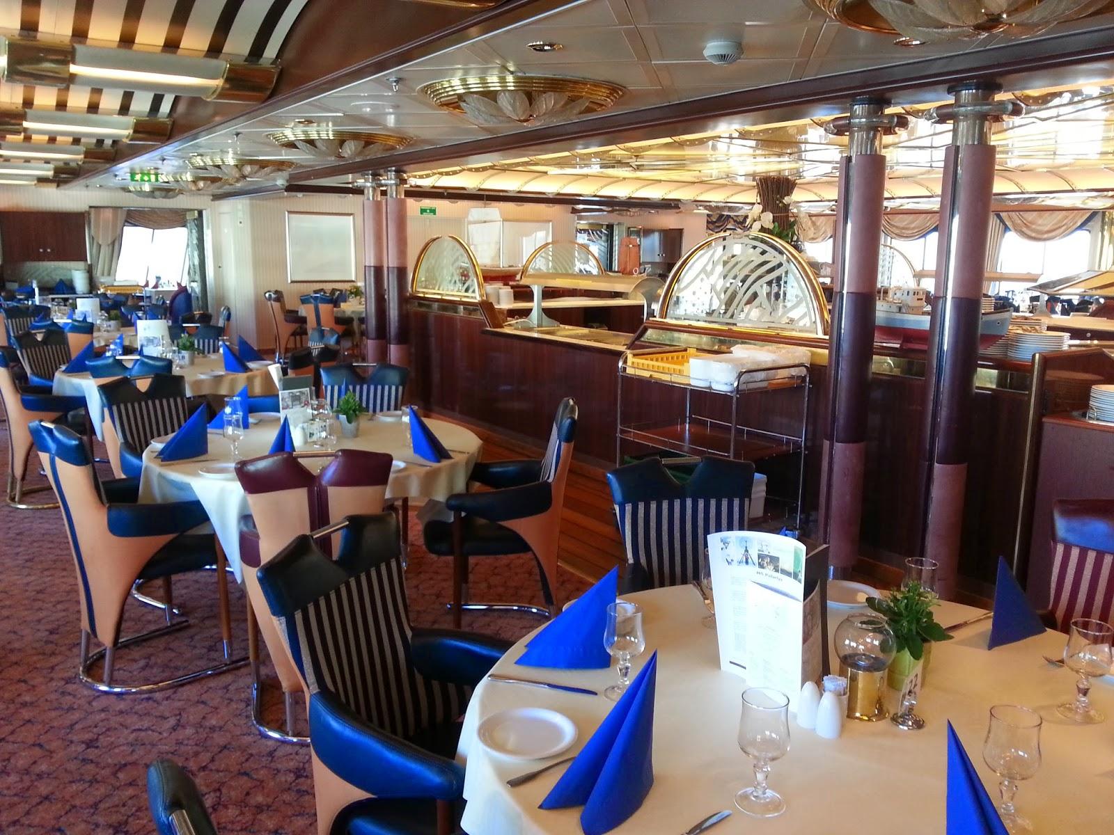 Hurtigruten MS Polarlys - Polarlyset Restaurant
