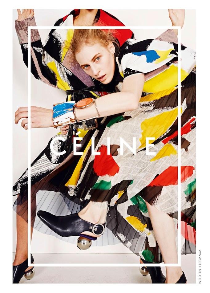 Celine SS14 campaign by Juergen Teller