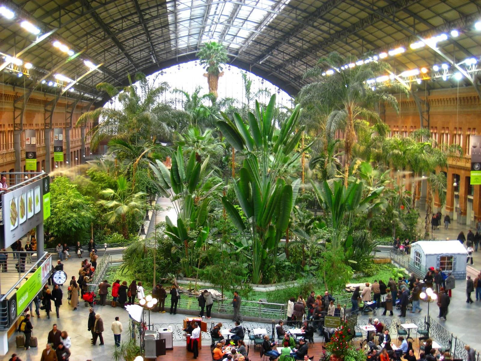 Lieux visiter madrid que visiter madrid air for Oficina europcar atocha