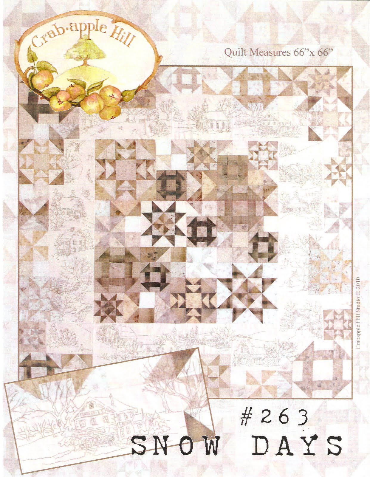 The Gathering Place Quilts Snow Days Pattern Amp Kit