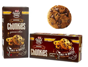 Amazon: Buy Britannia Good Day Chunkies, 100g (Pack of 2) at Rs.94