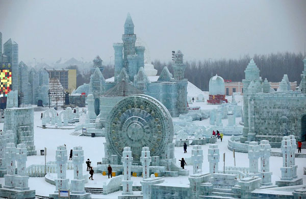 Harbin Ice and Snow Festival 2015 - Festival de Gelo na China