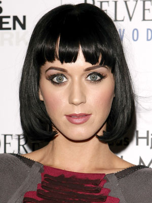 katy perry short hair 2011