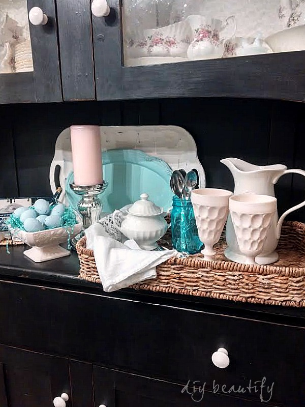 sweet-tea station DIY beautify