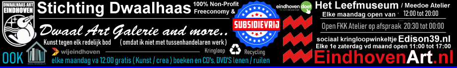 Stichting-Dwaalhaas EindhovenArt.nl recycling kringloop duurzaamheid non-profit