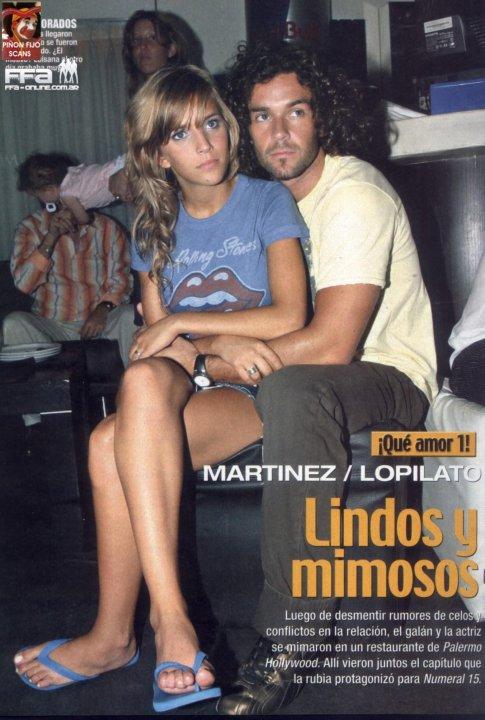 Mariano martinez y luisana lopilato