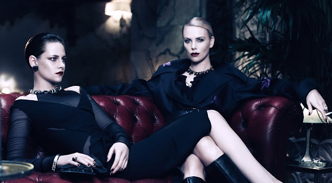 Kristen Stewart and Charlize Theron  in Interview Magazine June/July 2012 Issue