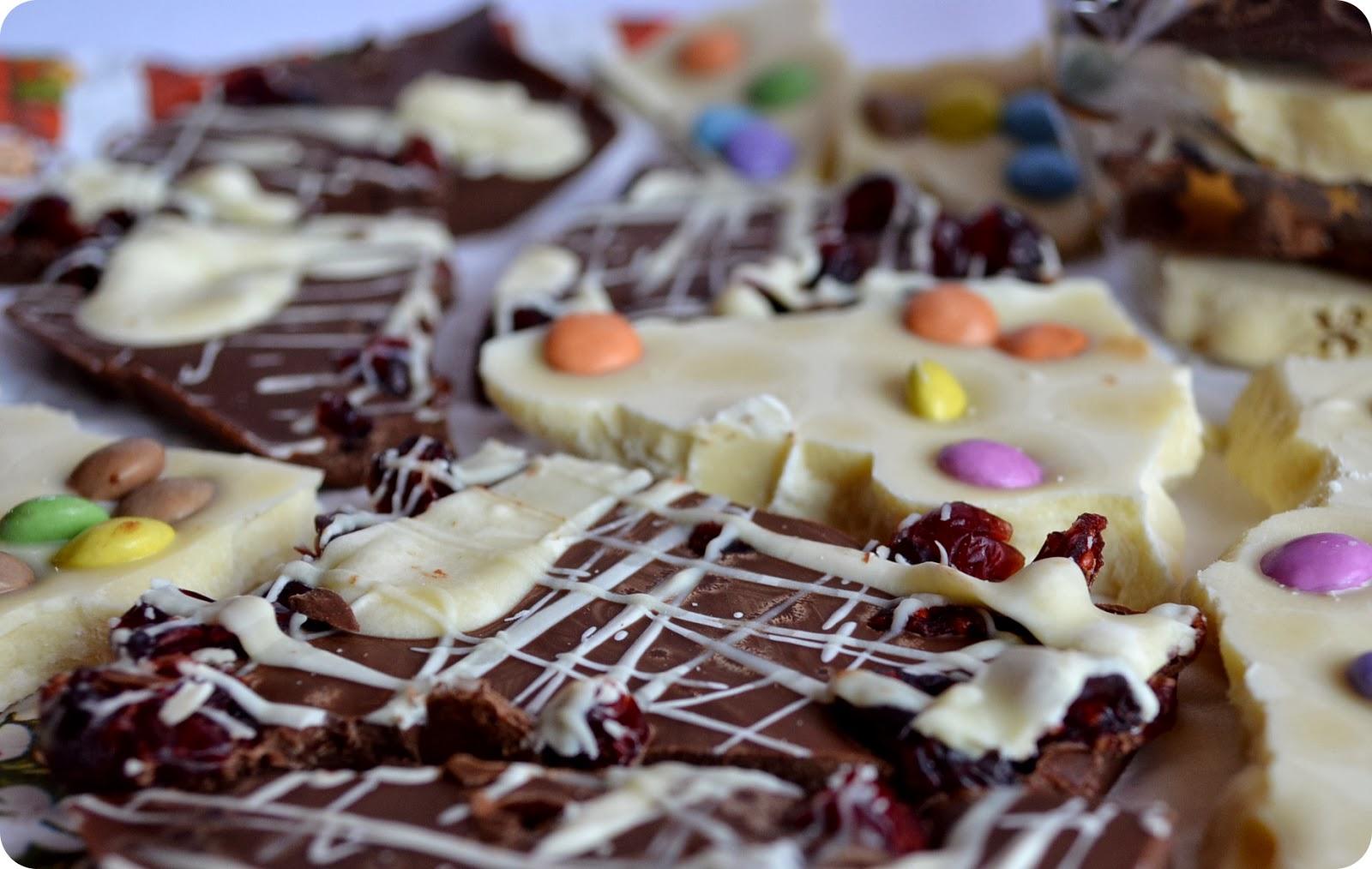 Geschenkidee Bruchschokolade (Rezept)