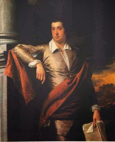 Thomas Day by Joseph Wright of Derby, 1770