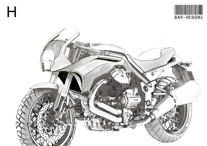 moto design e passioni  carena griso by stucchi