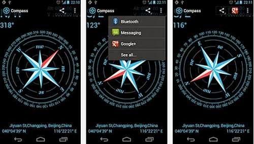aplikasi kompas android terbaik