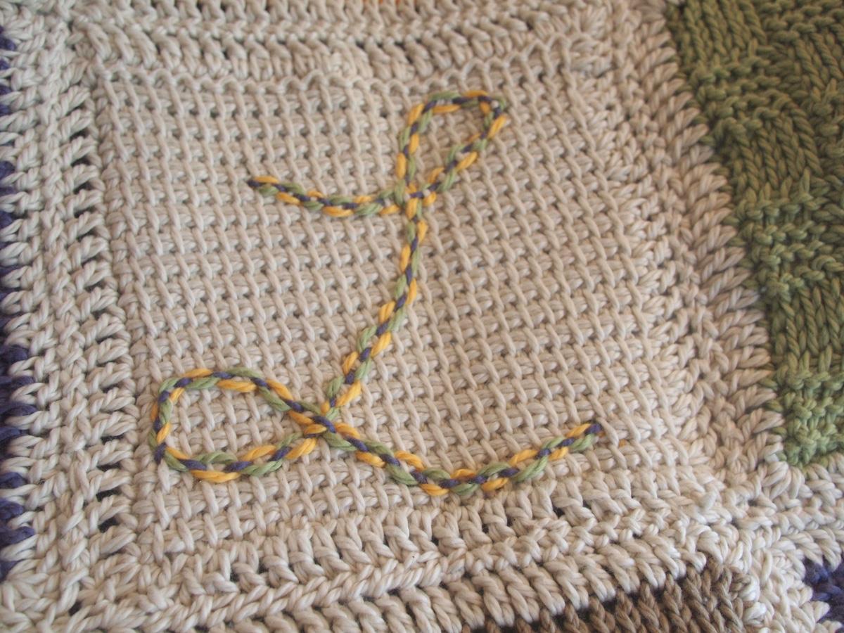 Easy Tunisian Crochet Baby Blanket Pattern : Fancy Tiger Crafts: Cats Tunisian Baby Blanket
