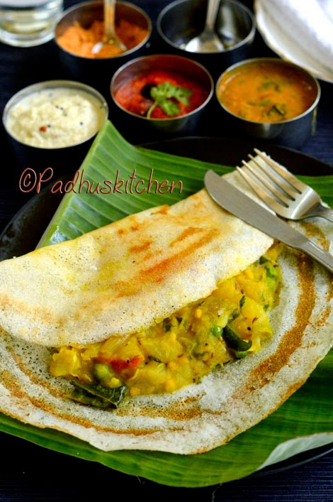 South Indian Masala Dosa