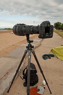Nikon 600mm f/4. Gitzo GT3531s