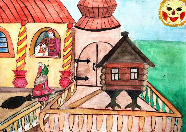 Рисунки ивана царевича из сказки царевна лягушка
