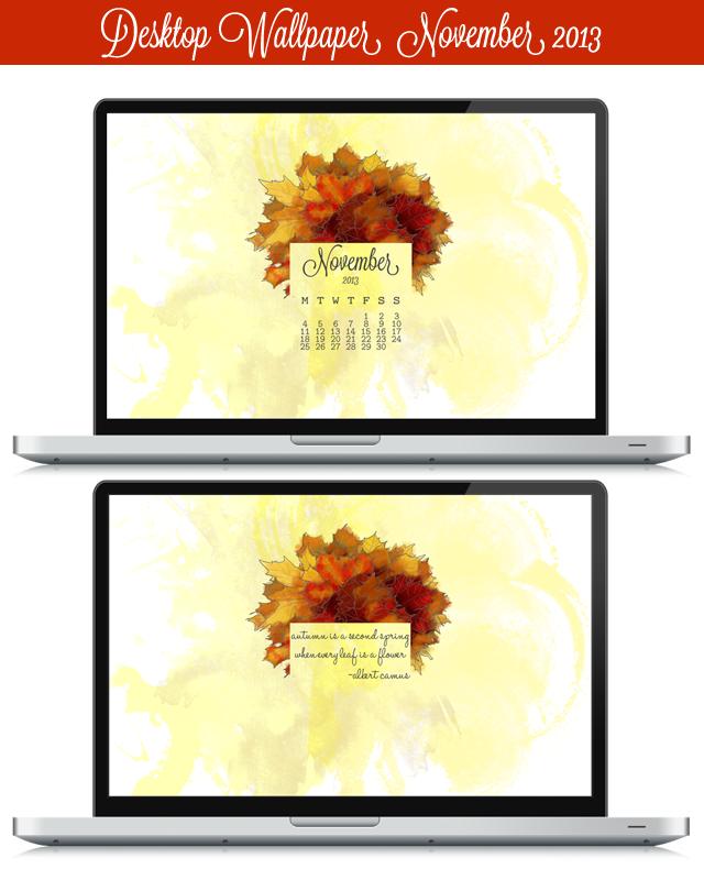 Nov 2013 Wallpaper Desktop