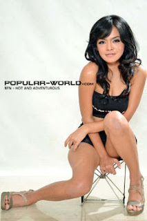 Tiara Sakti for Popular World Magazine BFN, January 2013 (Part 2)