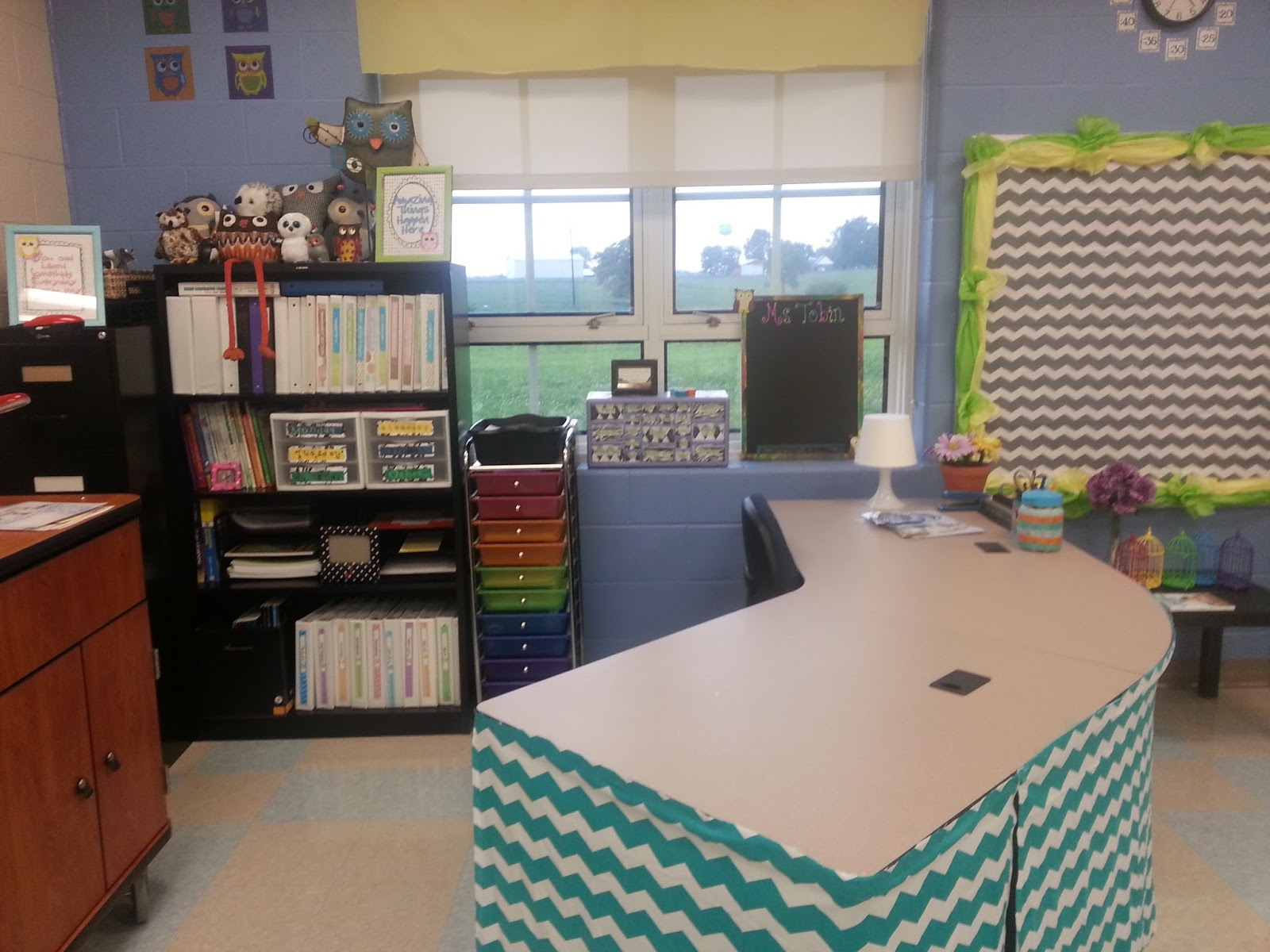 grade teacher post photo second desk ideas classroom reveal nest decor corner