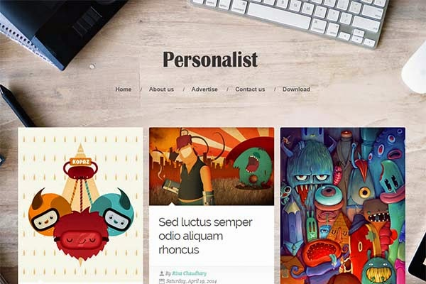 personalist-free-blogger-templates