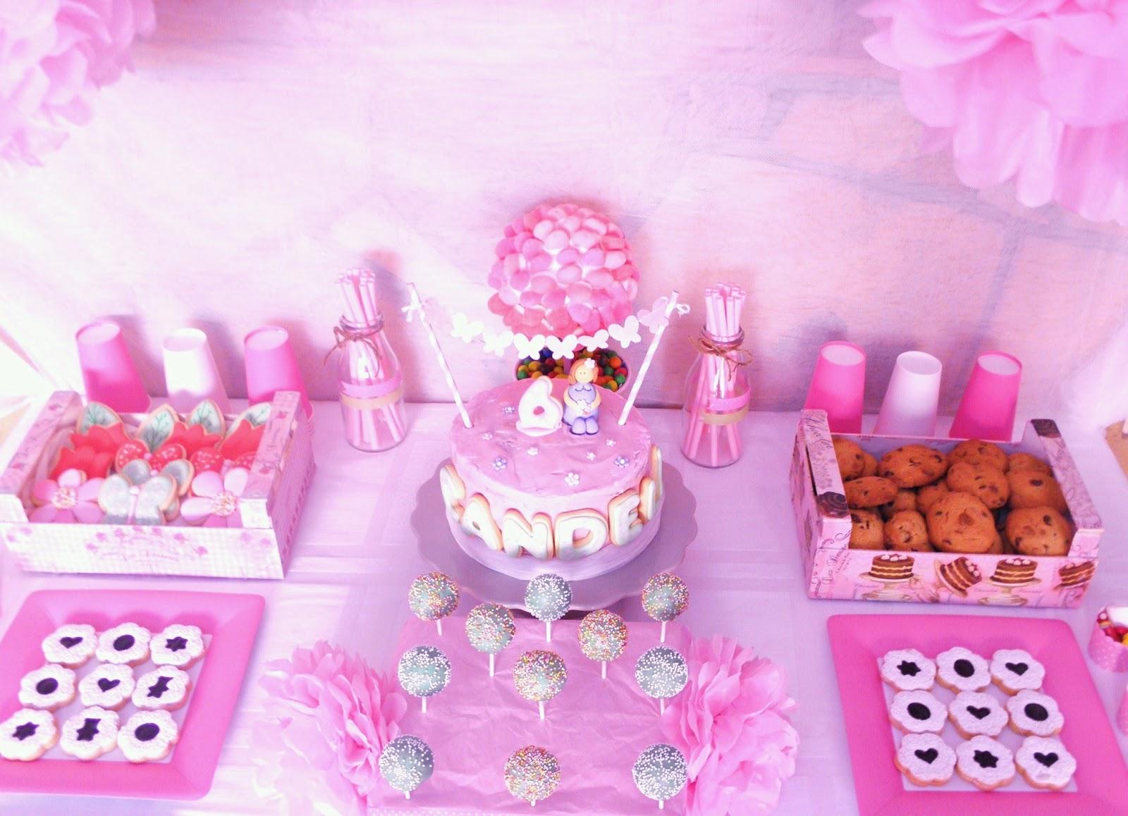Cajitas de galletas mesa dulce para el cumplea os de mi for Mesas dulces cumpleanos