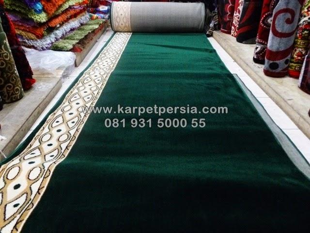 karpet-masjid-murah-polos-minimalis-hijau-banjarmasin