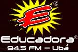 ouvir a Rádio Educadora FM 94,5 Ubá MG