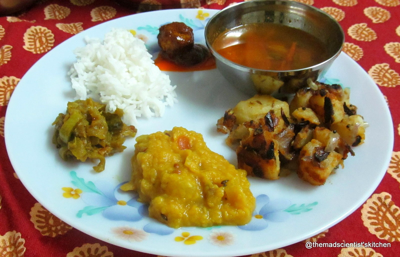 Andhra Meal