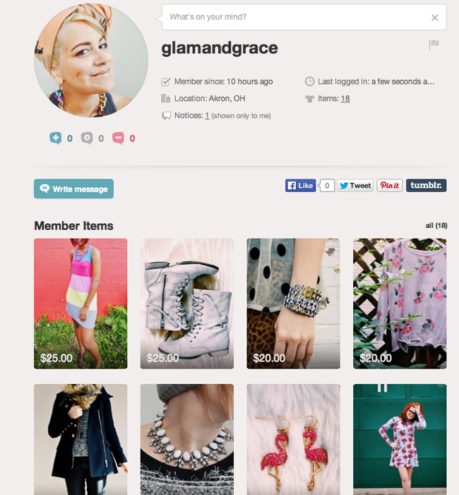 Glam & Grace on Vinted