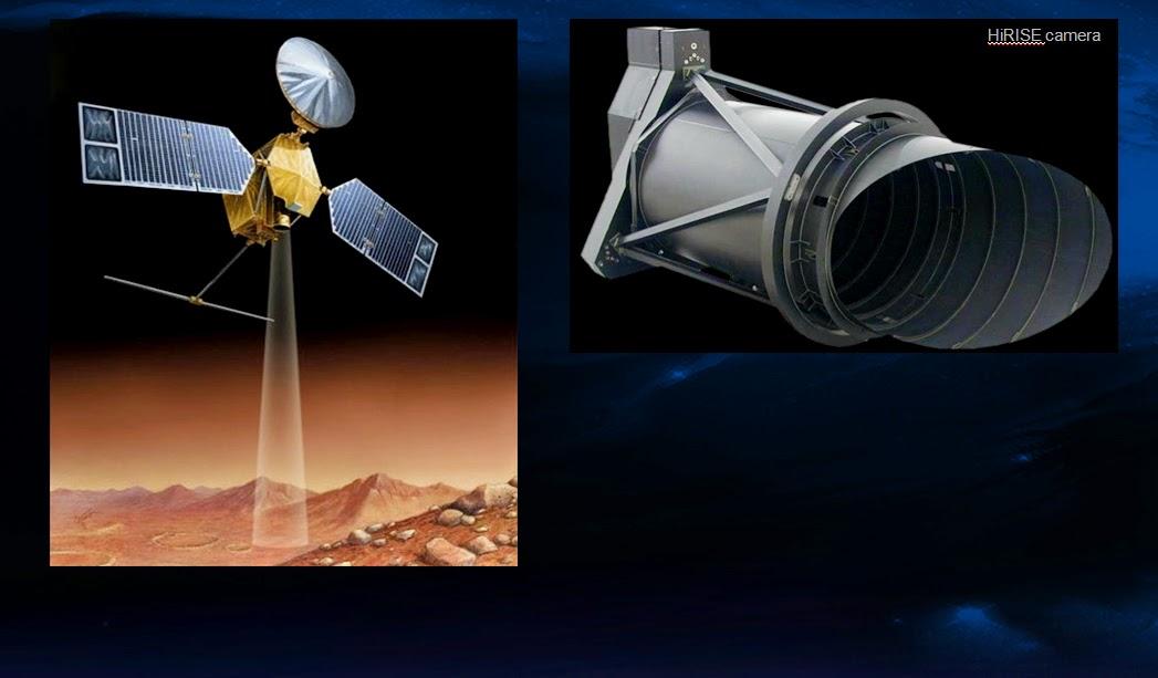 Sonda MRO y cámara alta resolución Hirise