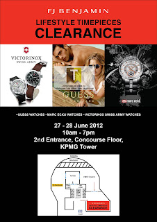 FJ Benjamin Lifestyle Timepieces Clearance 2012