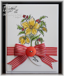 Stamps - Our Daily Bread Designs Christmas Rose, Ornate Borders Sentiments