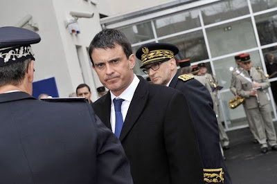 Valls anticipe une probable hausse du chiffre de la délinquance