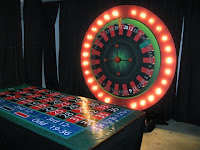 Casino games available at the event