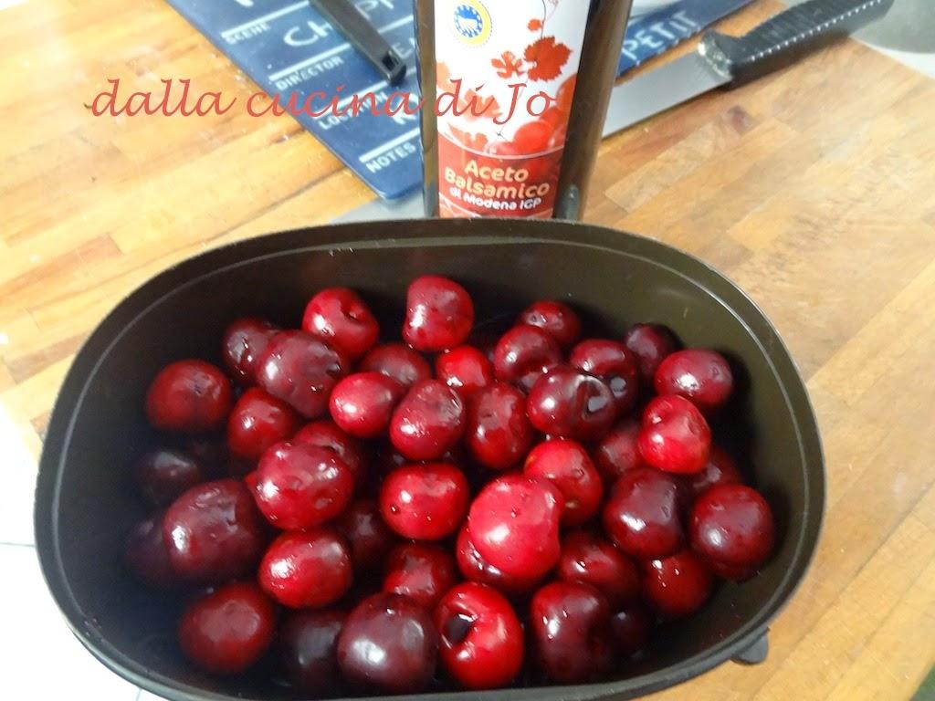 ciliegie 'balsamiche' in conserva