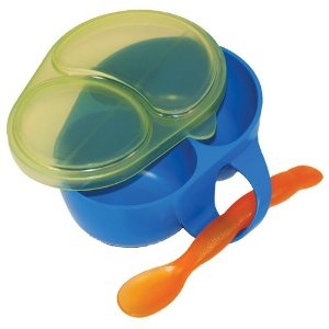 sassy first solids feeding bowl with spoon (1)