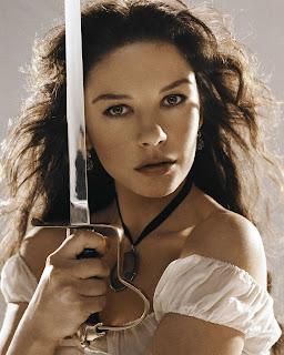Catherine Zeta Jones   The Legend Of Zorro Movie Still 8