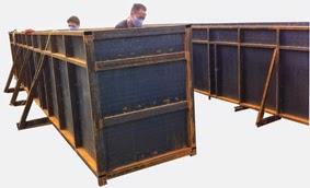 Bọc phủ composite cho bồn bể bê tông