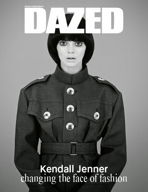 Cover highlight for the model | Hardly recognized: That's actually Kendall!