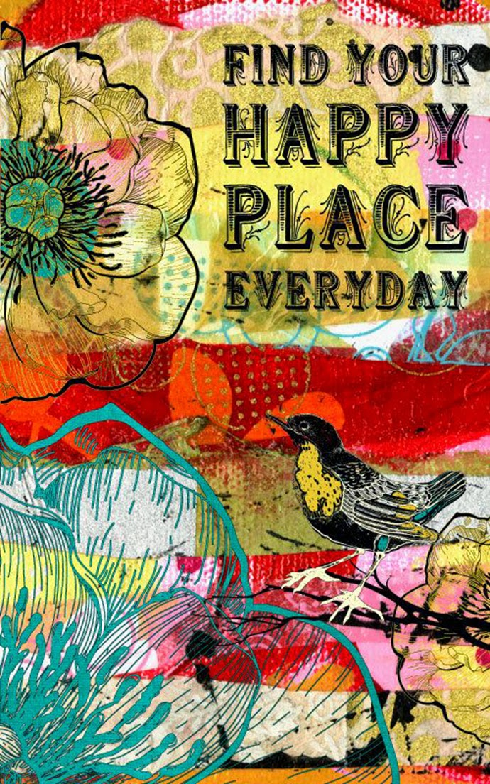 FashionThrill by Plamena Zahova: Inspirational Quote: Happy Place
