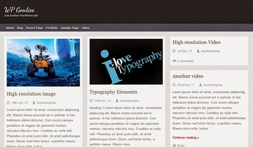 Theme Wordpress Themolio