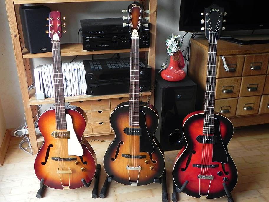Toms kleine Gitarrenwerkstatt...