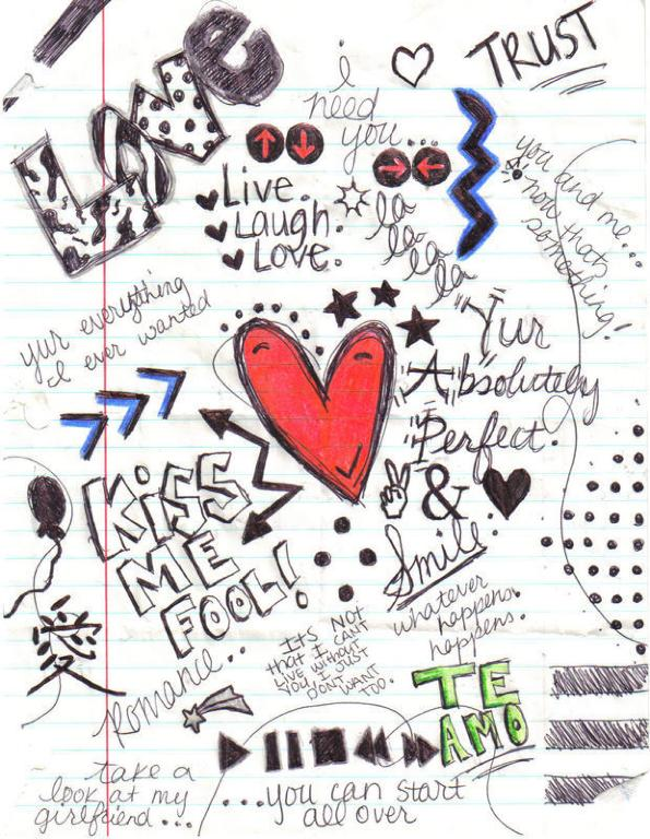 Yvonne german quotes love for Love doodles to draw