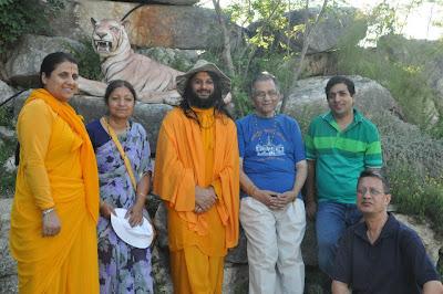 Jagadguru Kripaluji Maharaj's nepali preacher, Swami Haridas, in Austin, Texas